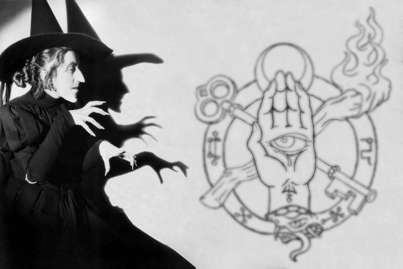 Seal of Sorcery - Wicked witch